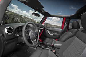 galeria de fotos jeep wrangler 2010 - interiores