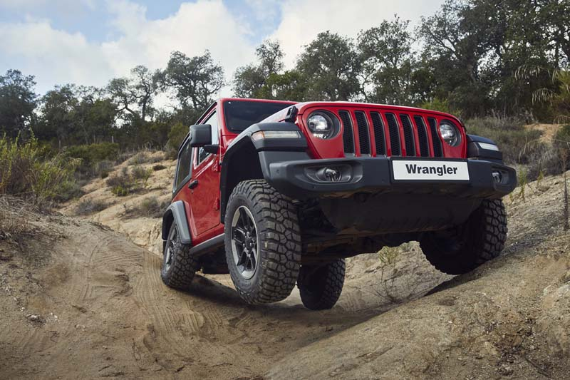 Jeep Wrangler 2018, foto delantera
