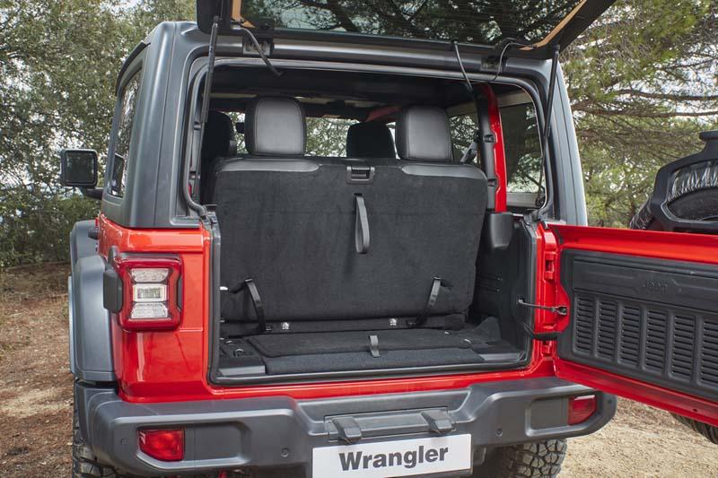 Foto Interiores Jeep Wrangler Suv Todocamino 2018