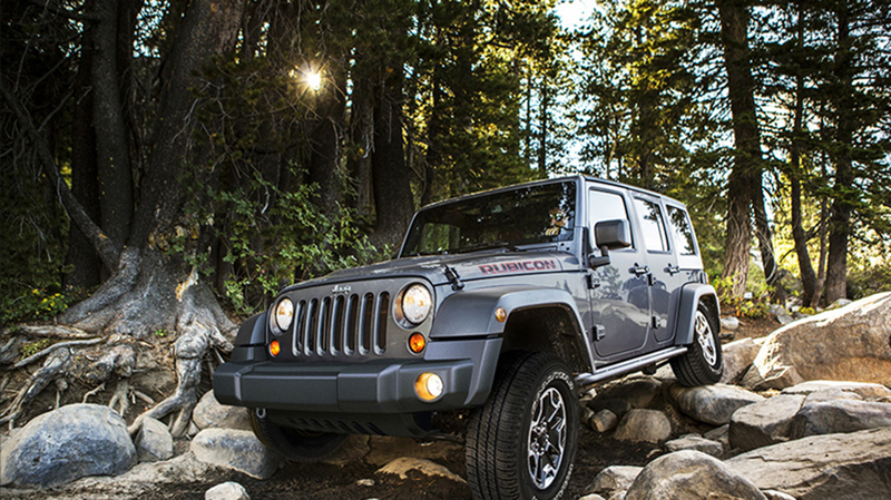 Jeep Wrangler Rubicon 10th Anniversary 2013