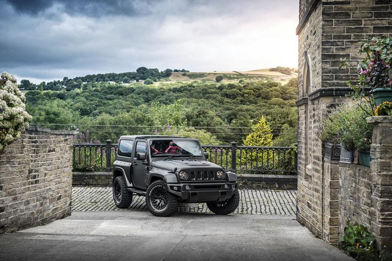 Foto Delantera Kahn Jeep Wrangler Black Hawk Suv Todocamino 2017