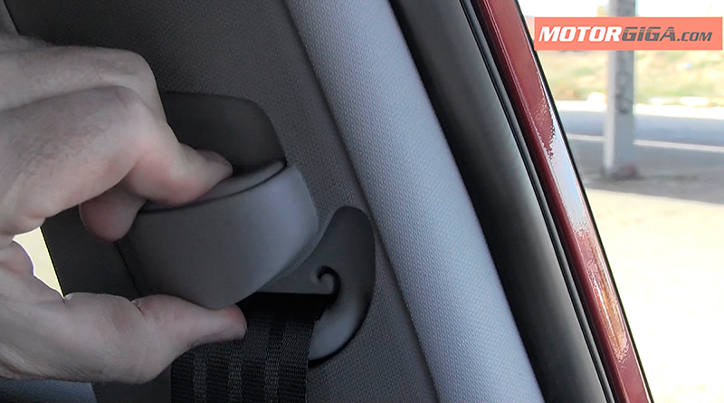 Foto Cinturon Regulable Kia Ceed Prueba 2016