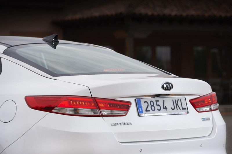 Foto Detalles Kia Optima Sedan 2016