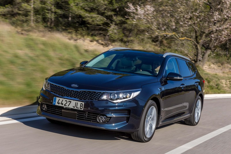 Foto Delantera Kia Optima Sportswagon Familiar 2016