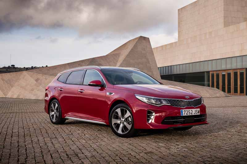 Foto Exteriores Kia Optima Sportswagon Familiar 2016