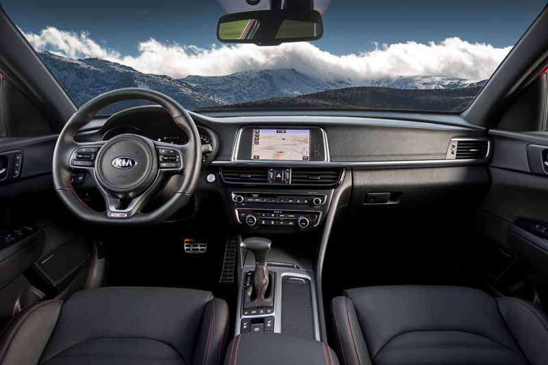 Foto Interiores Kia Optima Sportswagon Familiar 2016