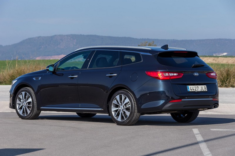 Foto Trasera Kia Optima Sportswagon Familiar 2016