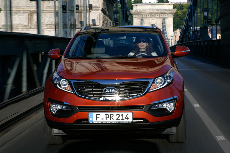 Foto Exteriores Kia Sportage Suv Todocamino 2010