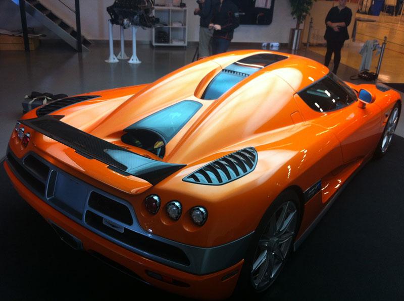 Foto Exteriores Koenigsegg Agera R Cupe 2012