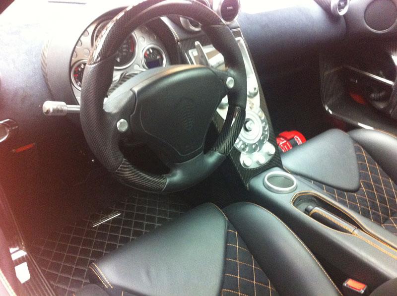 Foto Interiores Koenigsegg Agera R Cupe 2012