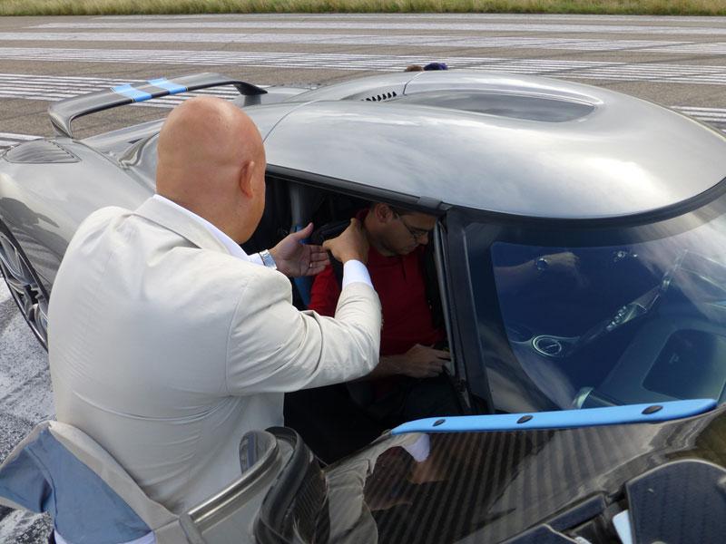 Foto Christian V Koenigsegg Christian V Koenigsegg