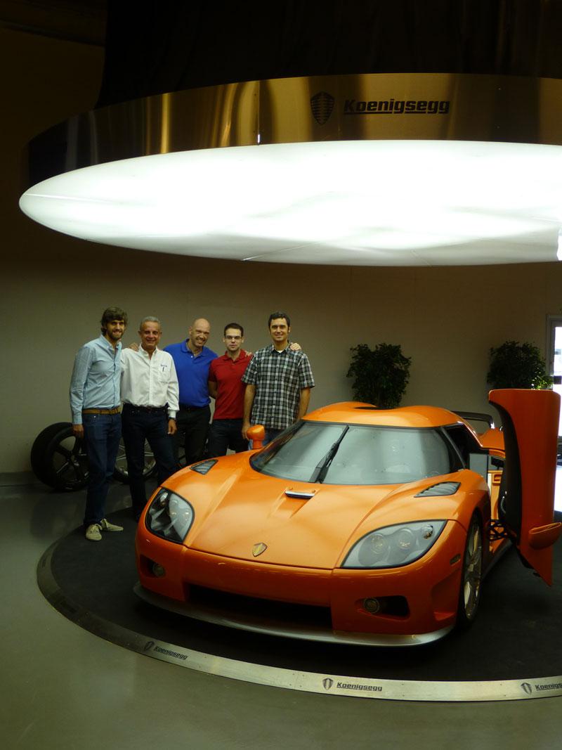 Visita a Koenigsegg con Michelin