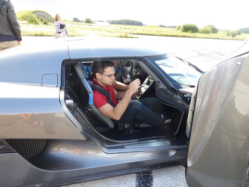 Foto Visita Koenigsegg Michelin Koenigsegg Visita Michelin 2012