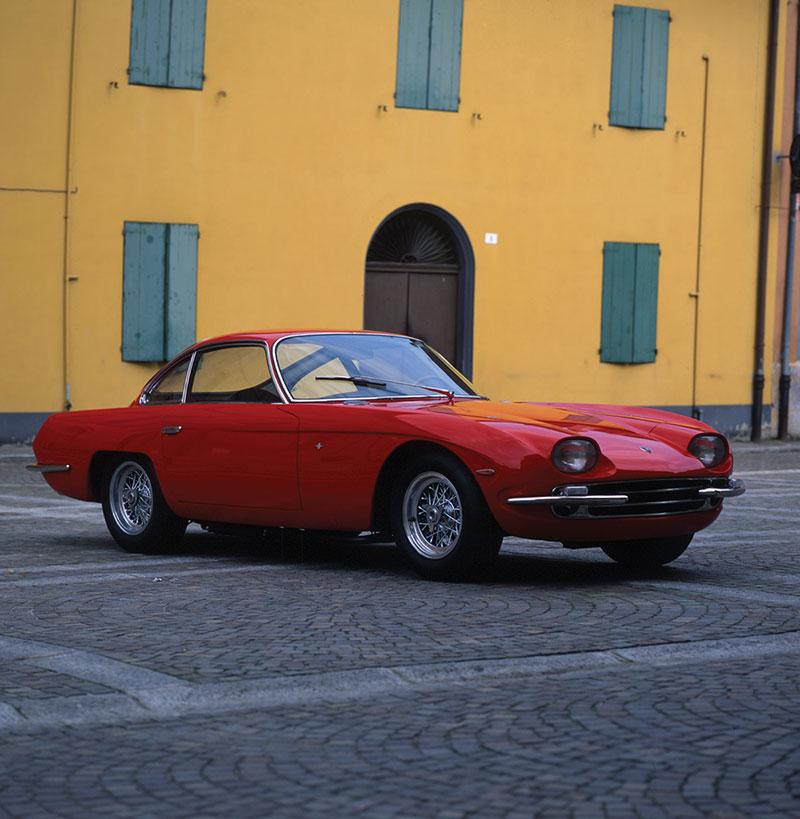 Foto Delantera Lamborghini 350gt Cupe 1967