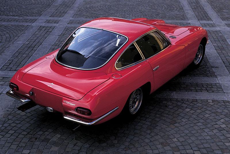 Foto Trasera Lamborghini 350gt Cupe 1967