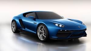 Foto Perfil Lamborghini Asterion Cupe 2014