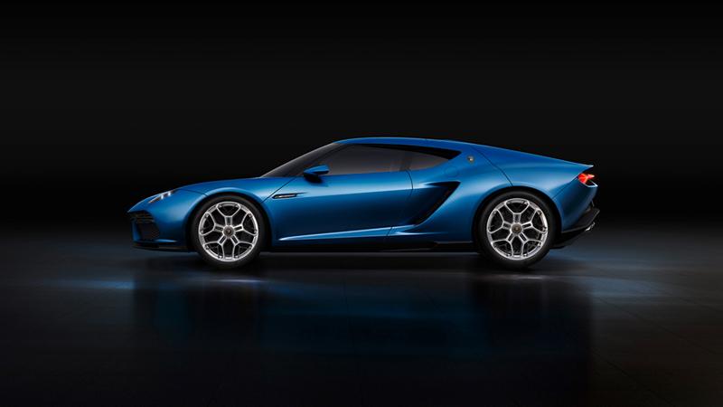 Foto Lateral Lamborghini Asterion Cupe 2014