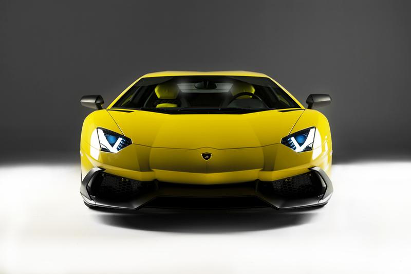 Foto Delantera Lamborghini Aventador 50 Aniversario Cupe 2013