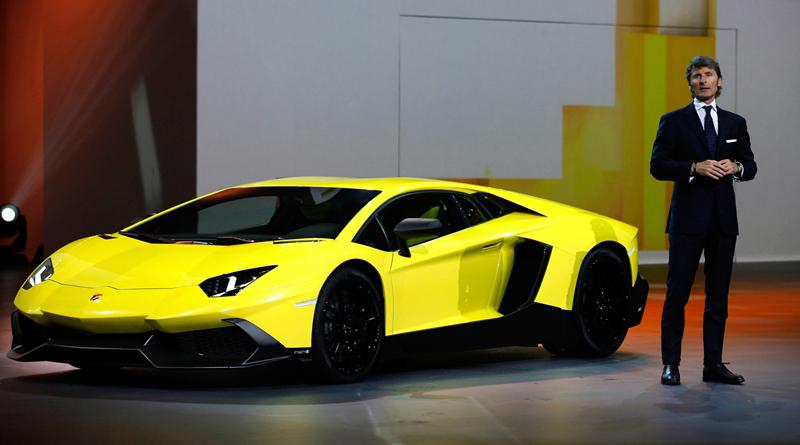 Foto Exteriores Lamborghini Aventador 50 Aniversario Cupe 2013