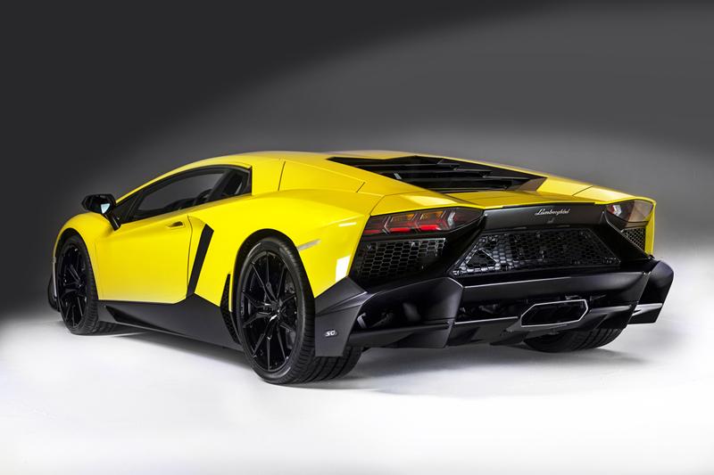 Lamborghini Aventador 50 Aniversario 2013