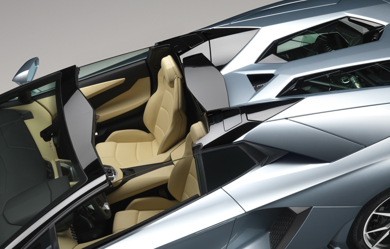 Foto Interiores Lamborghini Aventador Roadster Descapotable 2012