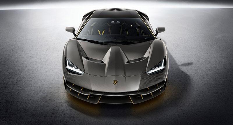 Foto Delantera Lamborghini Centenario Cupe 2016