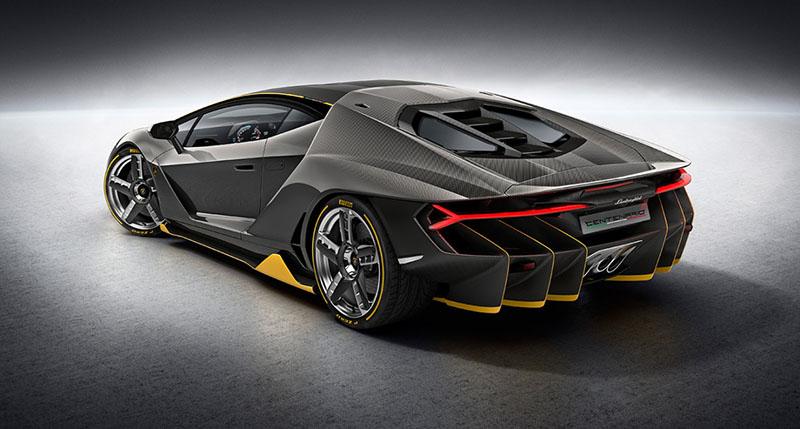 Foto Exteriores Lamborghini Centenario Cupe 2016