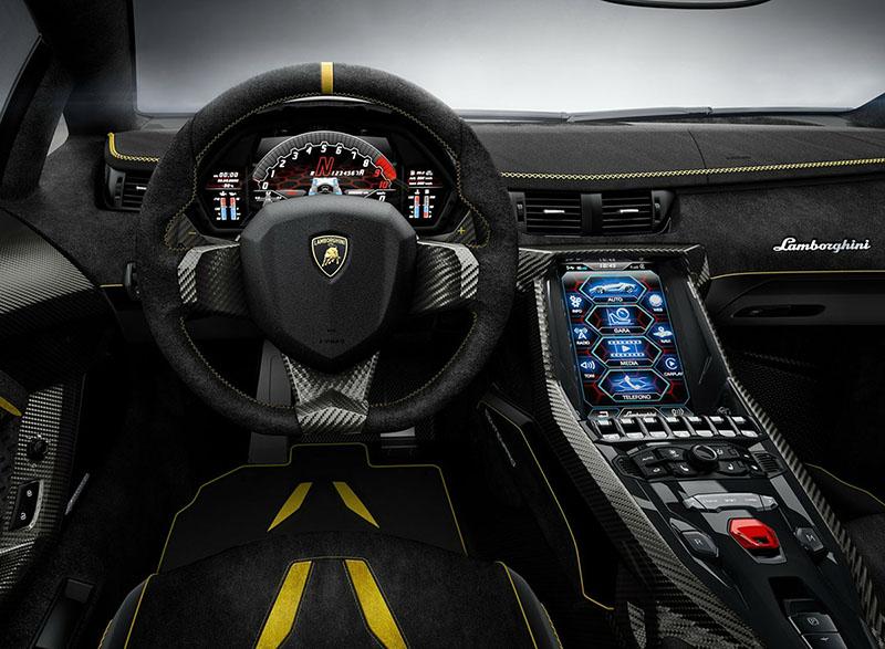 Interior Lamborghini Centenario