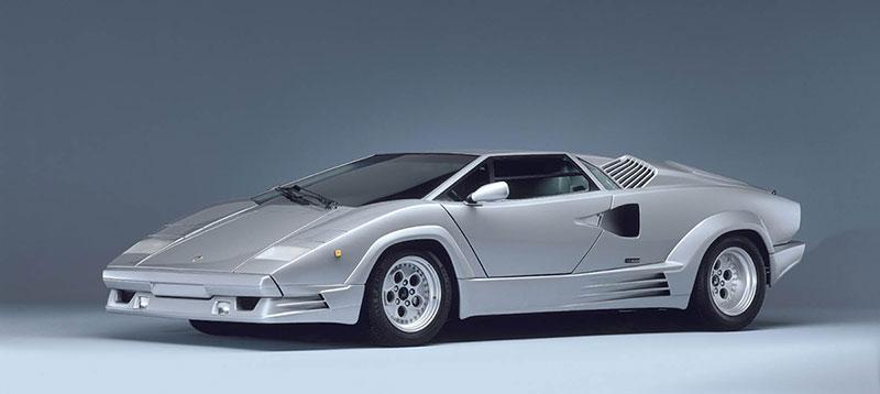 Foto Delantera Lamborghini Countach Cupe 1985