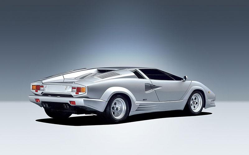 Foto Trasera Lamborghini Countach Cupe 1985