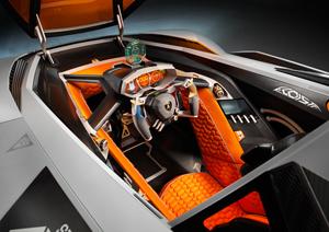 Foto Salpicadero Lamborghini Egoista Cupe 2013