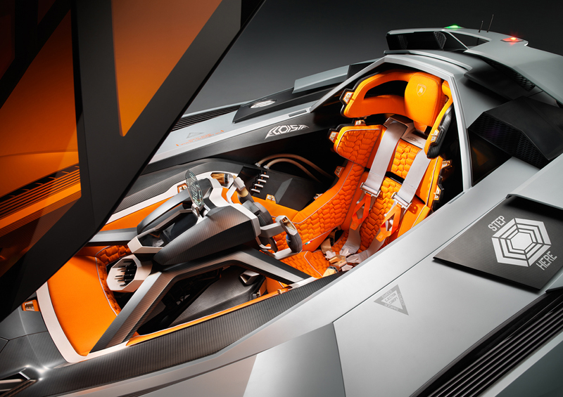 Foto Lamborghini_egoista_cockpit Lamborghini Egoista Cupe 2013