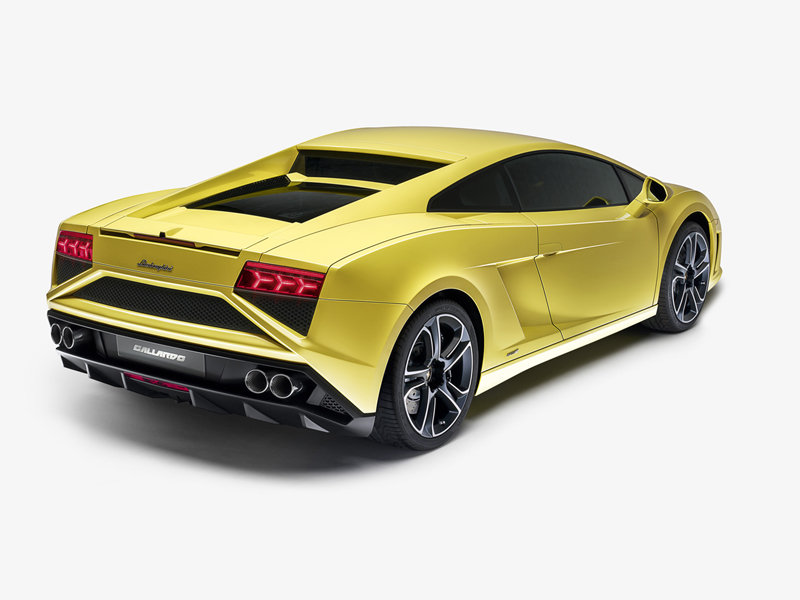 Foto Trasera Lamborghini Gallardo Lp560 4 Cupe 2012