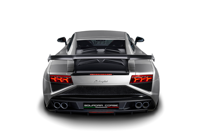 Lamborghini Gallardo LP 570-4 Squadra Corse en el Salón de Frankfurt 2013