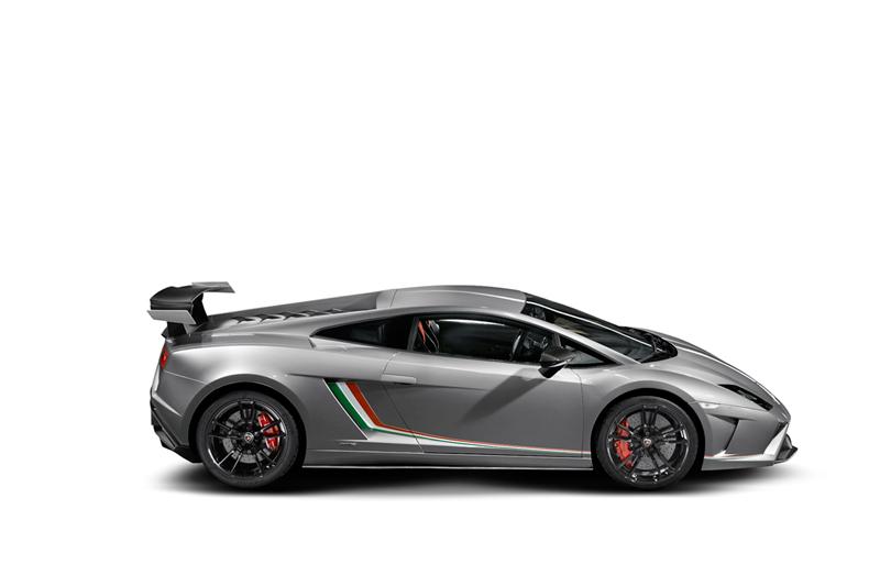 Foto Lateral Lamborghini Gallardo Squadra Corse Cupe 2013