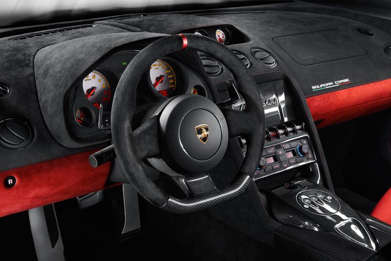 Foto Salpicadero Lamborghini Gallardo Squadra Corse Cupe 2013