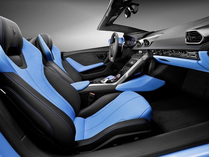 Foto Interior Lamborghini Huracan Spyder Descapotable 2016
