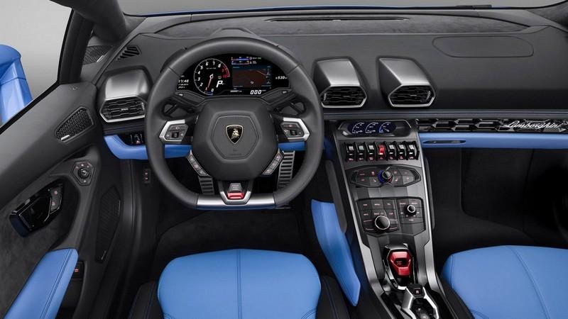 Foto Salpicadero Lamborghini Huracan Spyder Descapotable 2016