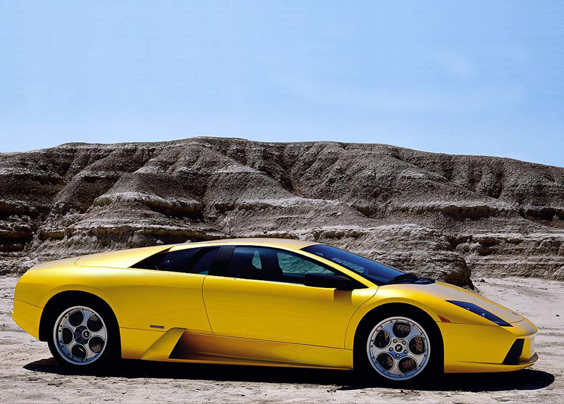 Foto Perfil Lamborghini Murcielago Cupe