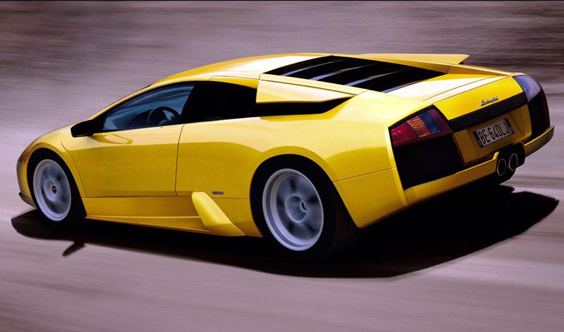 Foto Trasero Lamborghini Murcielago Cupe