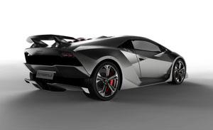 Foto Trasera Lamborghini Sexto-elemento Cupe 2010
