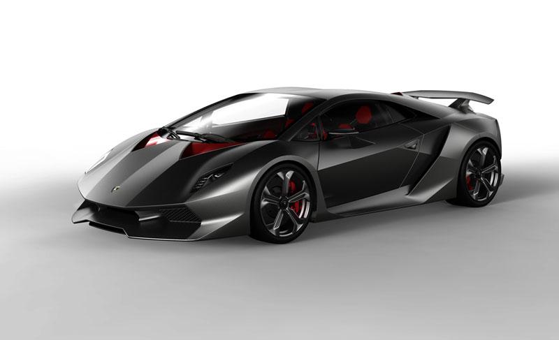 Foto Delantera Lamborghini Sexto-elemento Cupe 2010