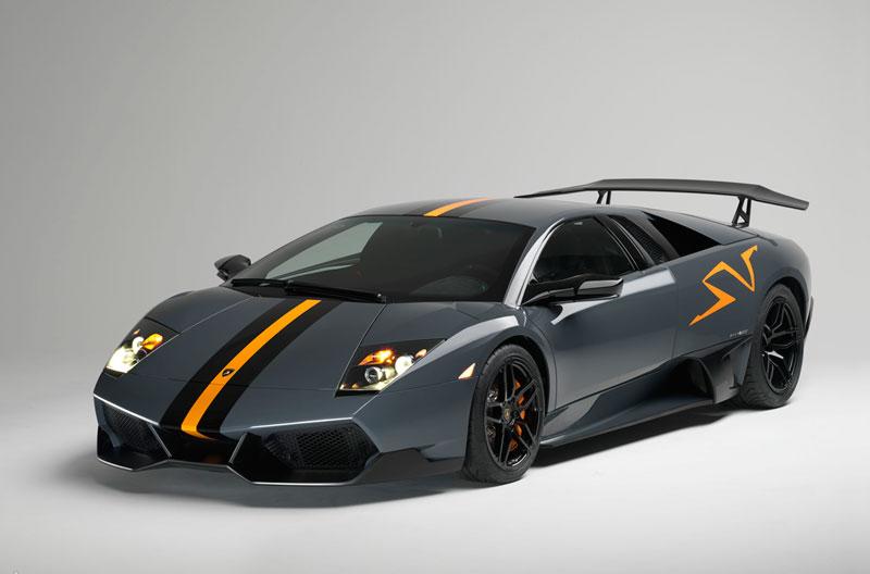 Foto Delantera Lamborghini Super-veloce Cupe 2010