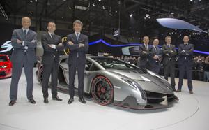 Foto Exteriores (5) Lamborghini Veneno Cupe 2013