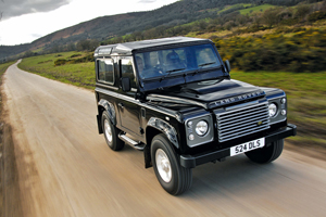Foto land-rover defender 2009