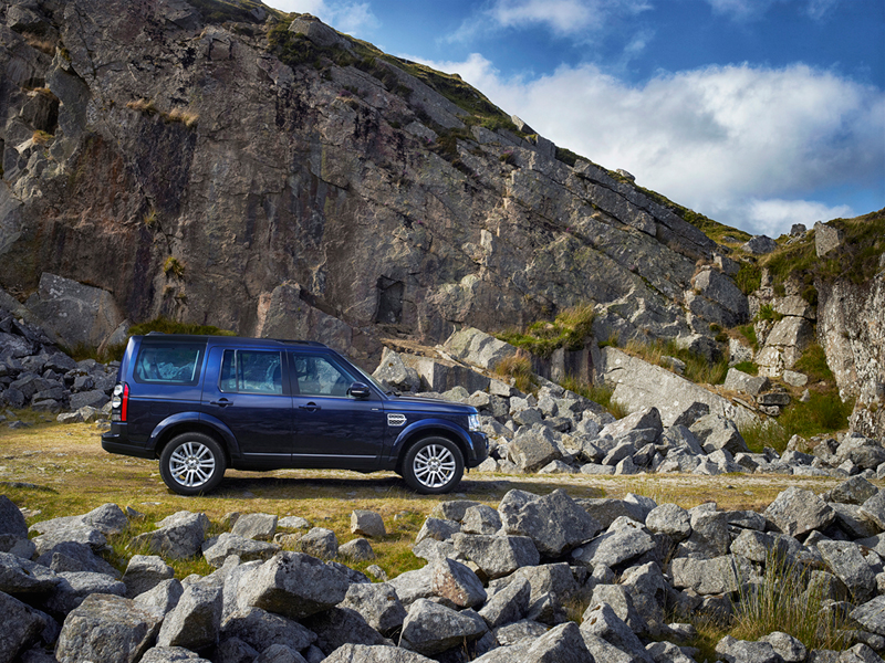 Foto Lateral Land Rover Discovery Suv Todocamino 2013
