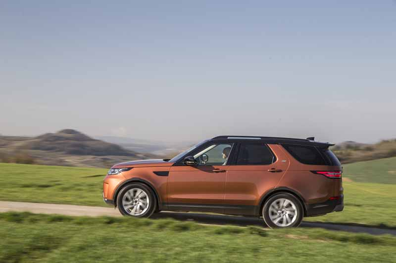 Land Rover Discovery 2017, foto lateral