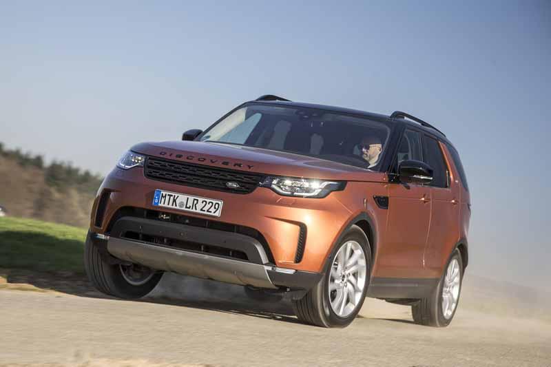 Land Rover Discovery 2017, foto delantera