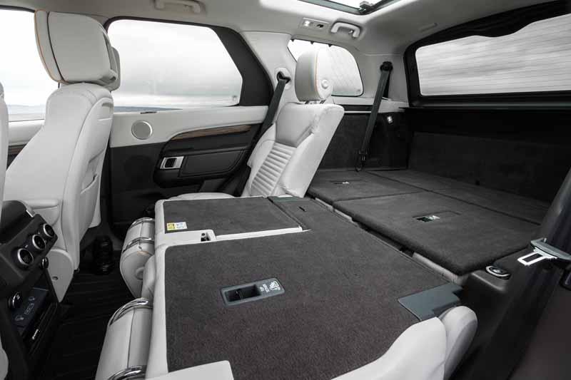 Foto Interiores Land Rover Discovery Suv Todocamino 2016