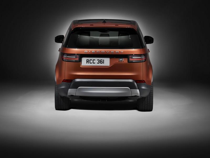 Foto Trasera Land Rover Discovery Suv Todocamino 2016